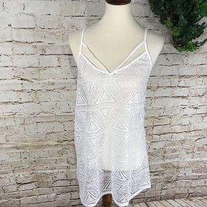 NWOT VS PINK Crochet Beach Coverup